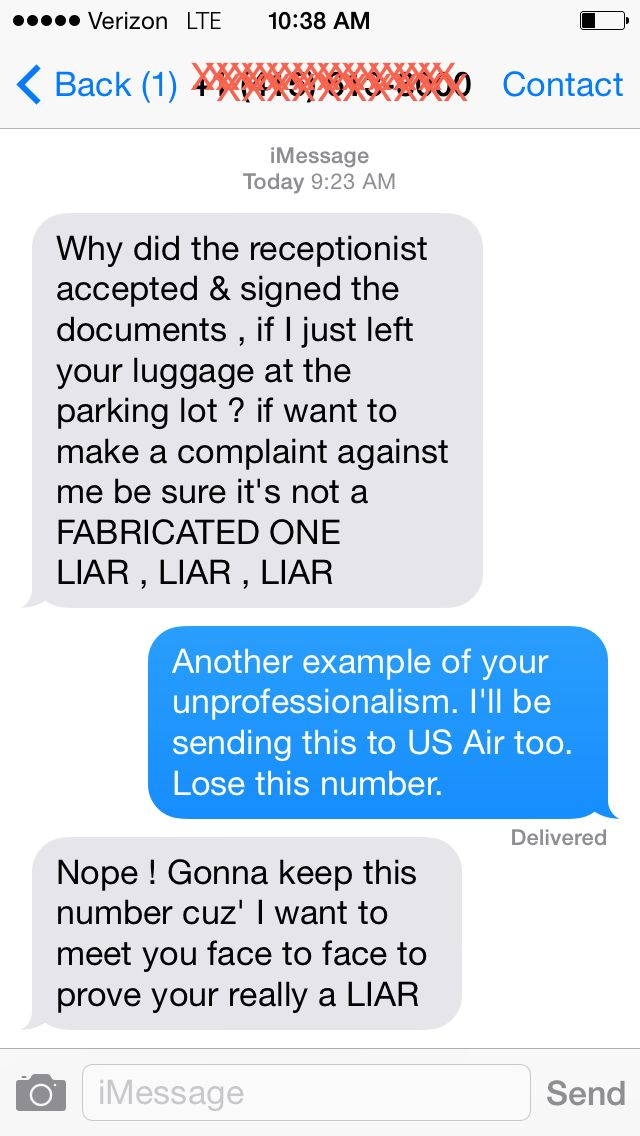 US Airways is not having the best week --> A Waze Exec Says A US Airways Baggage Guy Sent Her These Harassing Texts   http://www.businessinsider.com/waze-julie-anne-mossler-and-us-airways-harassment-2014-4#ixzz2zCCr9Ri3