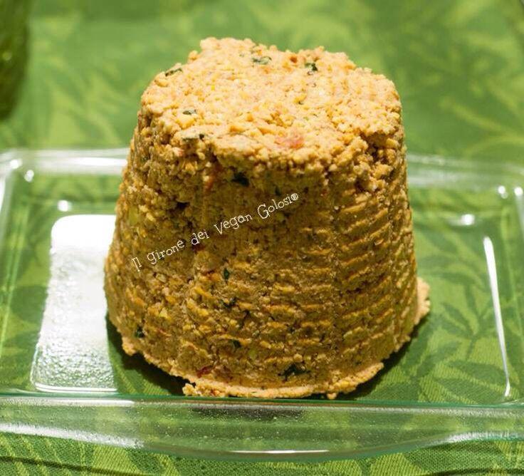 """""""Non formaggio"""" di lupini alla mediterranea"""