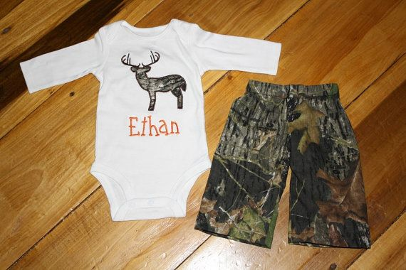 Baby Camo Outfit
