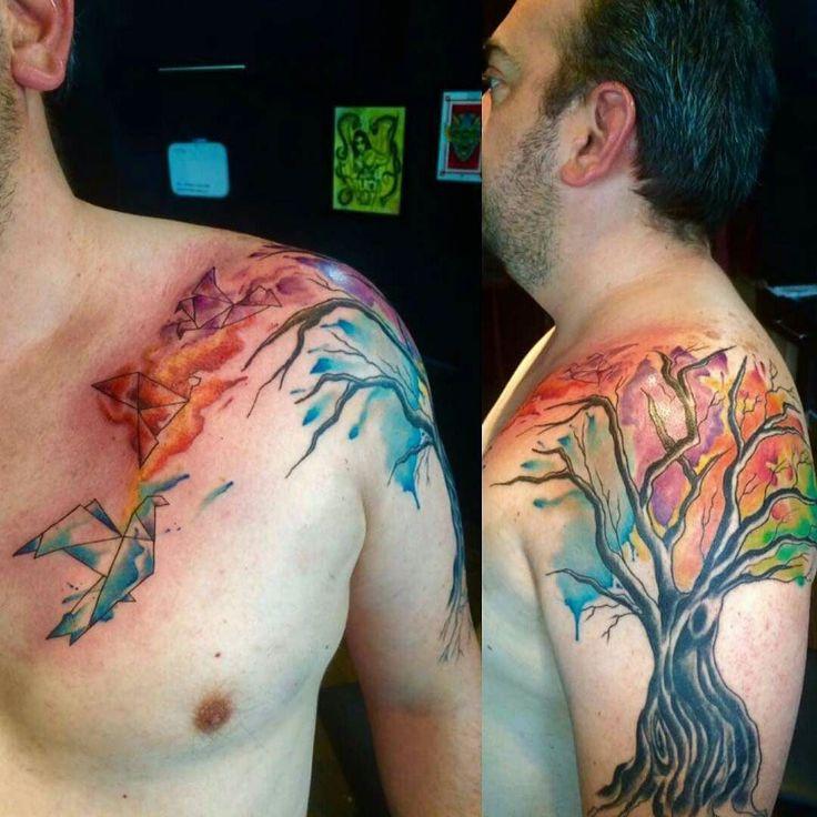 WATEKE INK Citas y cotizaciones disponibles... Tatuador: Mord Vargas / @mordvargas VISÍTANOS..  Paseo de los insurgentes #304 local 3 esquina con paseo del moral.  211 60 01 / 477 243 86 04  HORARIO: lunes a sábado 11:00am - 8:00pm  #tattoo #ink #tattoos #mexico #leongto #MordVargas #vsco #vscocam #acuarelatattoo #watercolor #watercolortattoo #acuarela #papiroflexia #papiroflexiatatuaje by wtk.ink