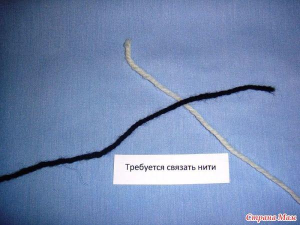Соединение нитей: промышленный и ткацкий узлы