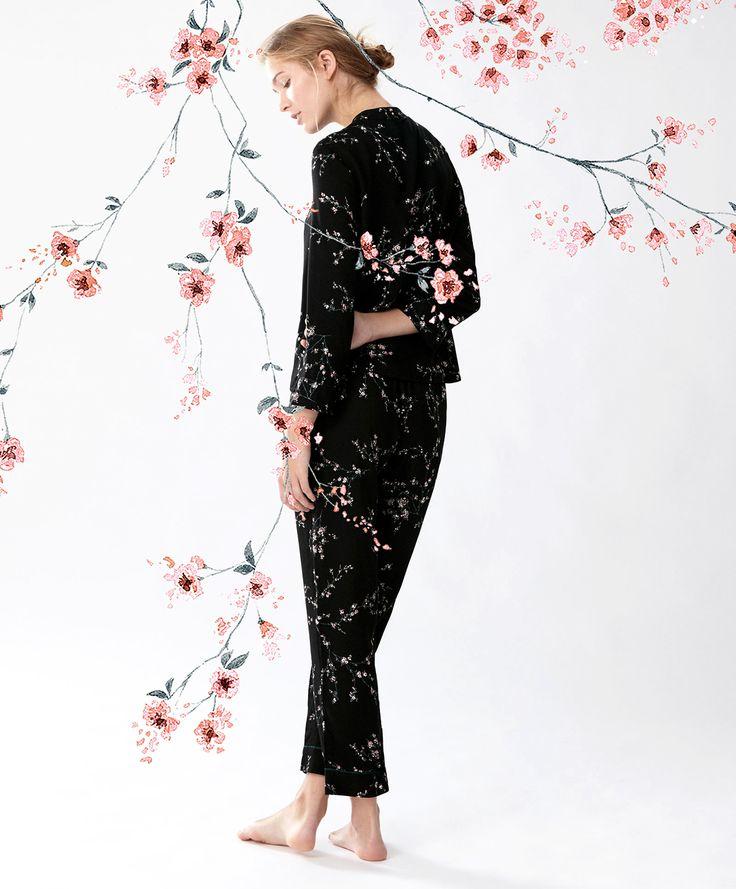 Cherry Blossom print, for OYSHO on Behance