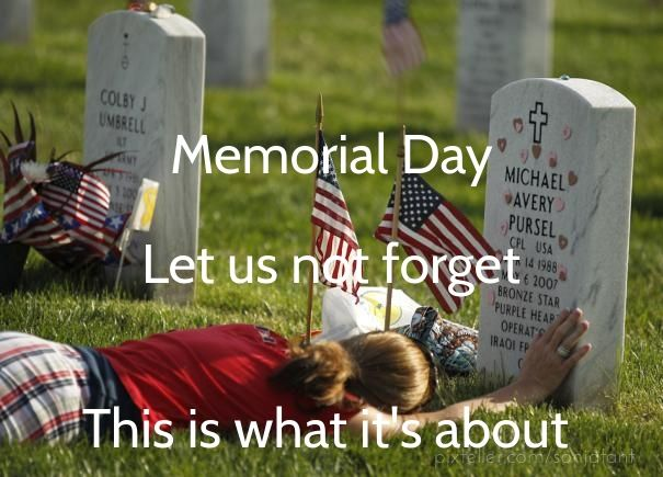 memorial day in remembrance