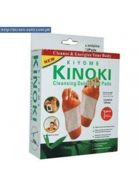 Επιθέματα Πελμάτων KIYOME KINOKI για αποτοξίνωση του οργανισμού - 10τμχ