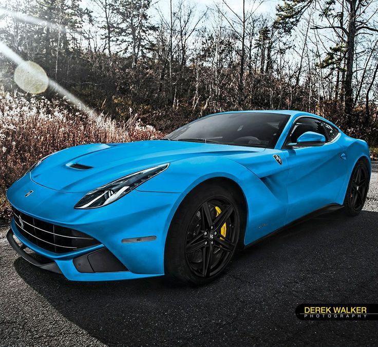 Ferrari F12berlinetta is something special in blue