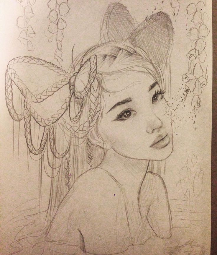 Drawing Lines In Muse : Sketching ideas for a new painting using my gorgeous