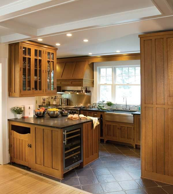 Craftsman Kitchen Design Ideas And Photo Gallery Mission Style Cabinets