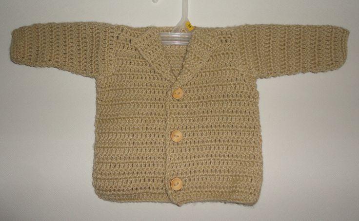 chaleco bebé crochet $5.500