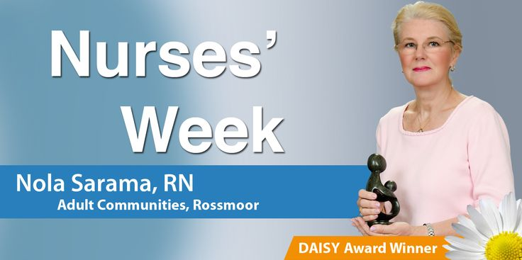 Nurses' Week 2015 - Saint Peter's University Hospital Daisy Award Winner, Nola Sarma, RN #Healthcare #NursesWeek