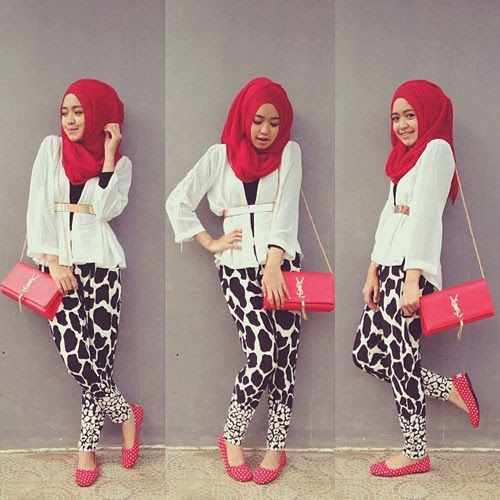 Trend Hijab 2014 Ala Dini Djoemiko