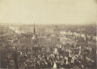Paris 1855, L'île de la Cité avant l'intervention d'Haussmann