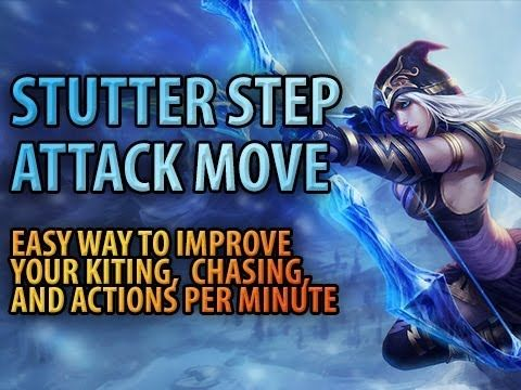 ▶ Stutter Step, Attack Move, and Awesome Keybinding Trick - YouTube
