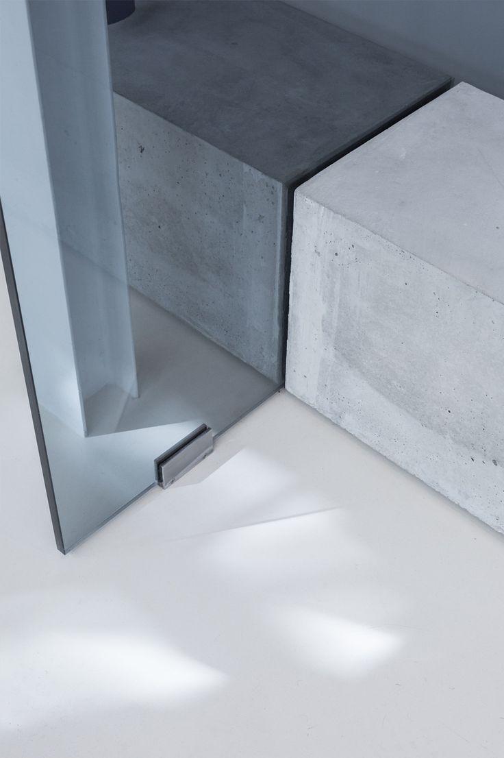 Études Studio is a minimalist interior located in Paris, France, designed by Ciguë.