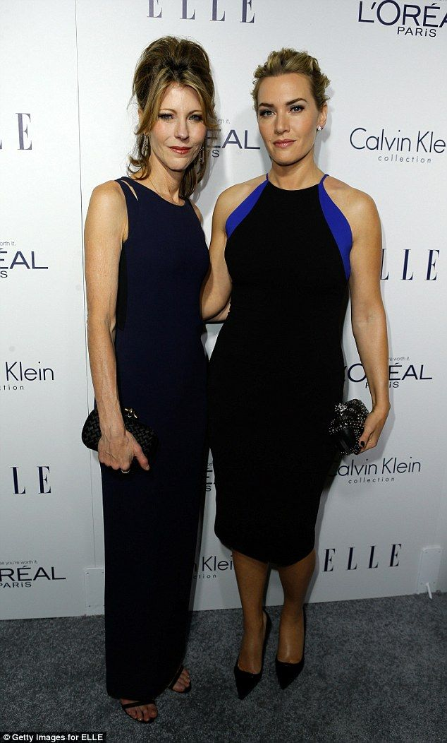 Joining forces: Kate posed alongside ELLE editor-in-chief Robbie Myers at the 22nd annual ...