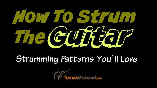 how to read guitar strumming patterns