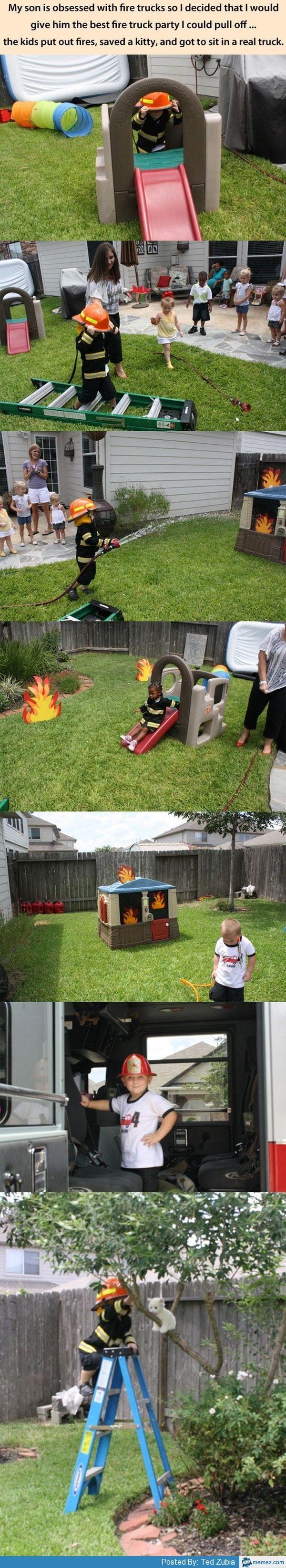 Genius idea for birthday party