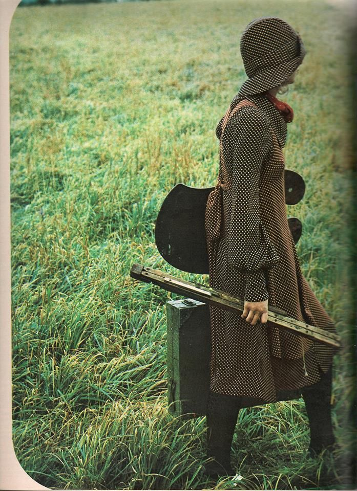 "Biba smocks, 1971 from ""19"" magazine"