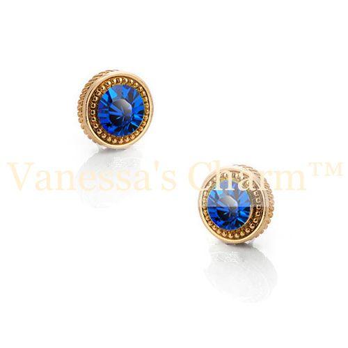 Crystal earrings, studs, stud earrings, jewelry, smycken, örhängen