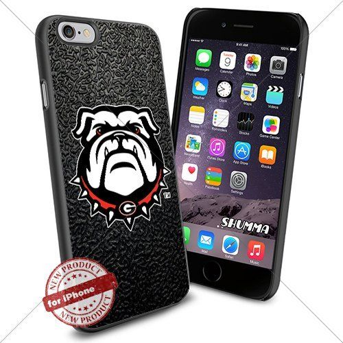 ncaa georgia bulldogs iphone 6 4 7 case cover protector for iphone 6 tpu rubber case black. Black Bedroom Furniture Sets. Home Design Ideas
