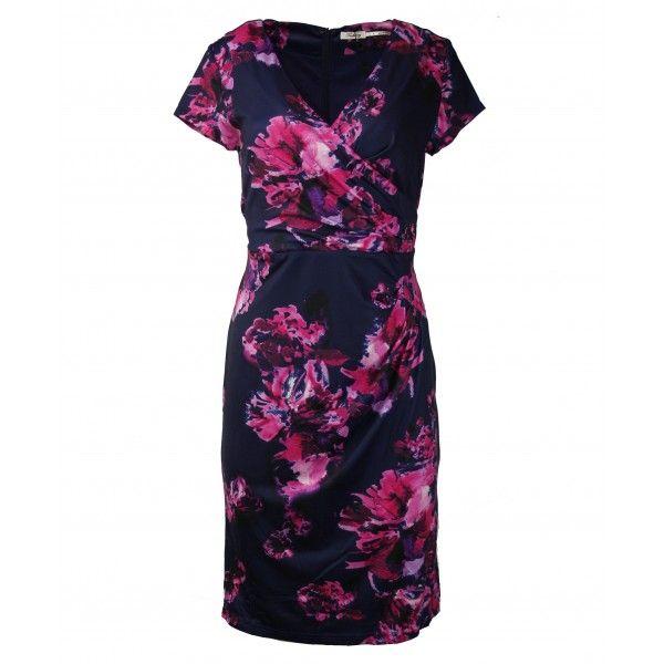 Esten Painterly Floral Work Dress