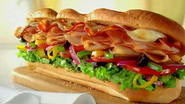 Melt Sub by Subway  My favourite!
