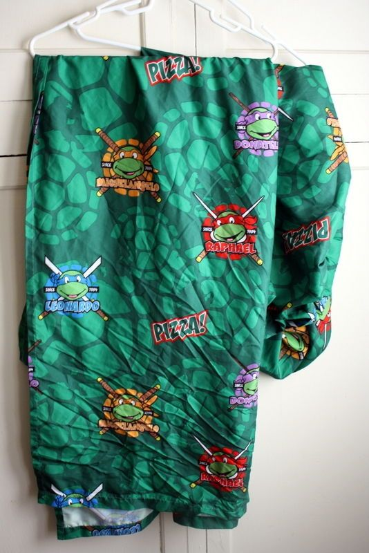 Teenage Mutant Ninja Turtles Toddler Boys Bed Sheets Flat and Fitted #nick