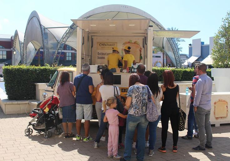 CAPATOAST ON THE ROAD Prima Tappa: Valmontone Outlet