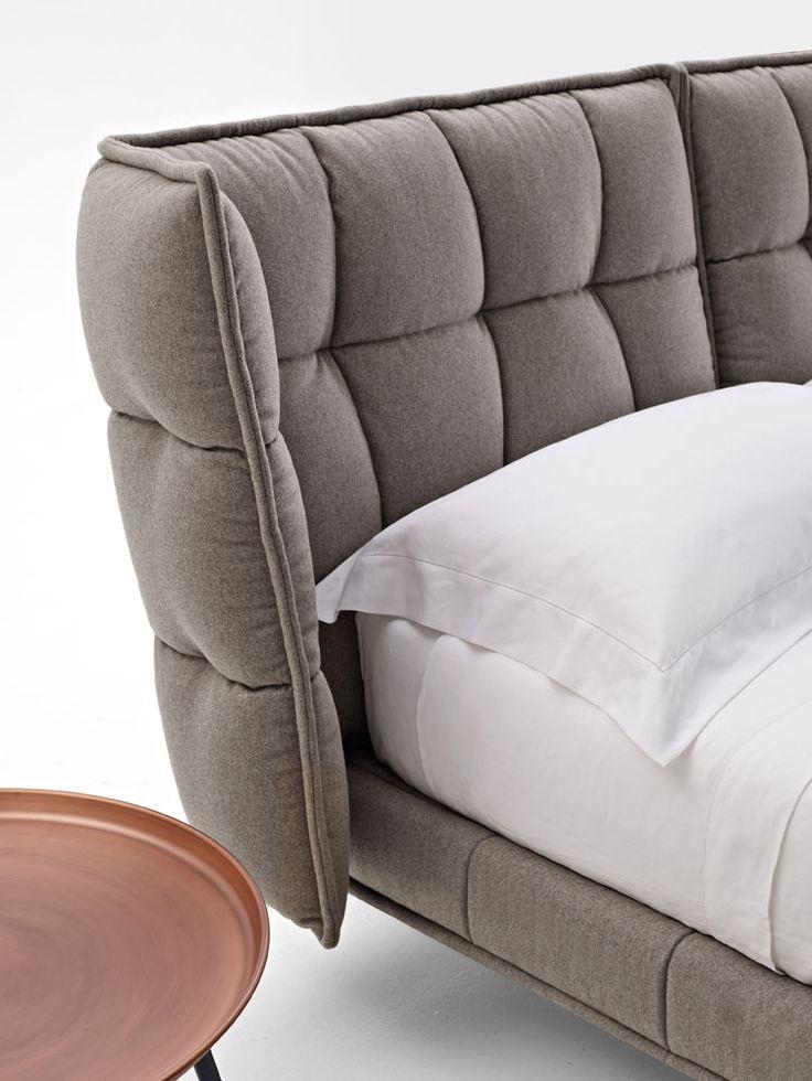 Bed: HUSK - Collection: B&B Italia - Design: Patricia Urquiola
