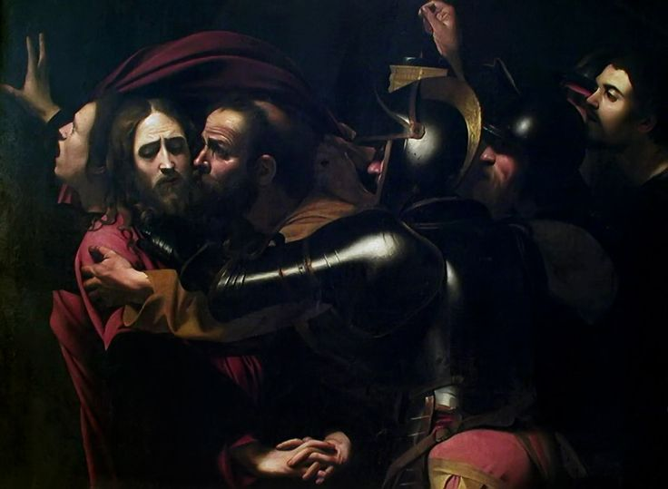 The taking of christ caravaggio