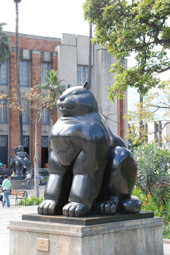 botero cat...Medellin, Colombia