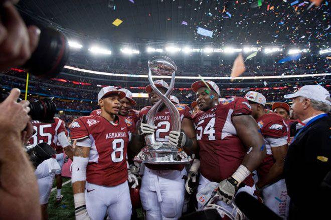 Cotton Bowl Champions 2012 #razorbacksforever