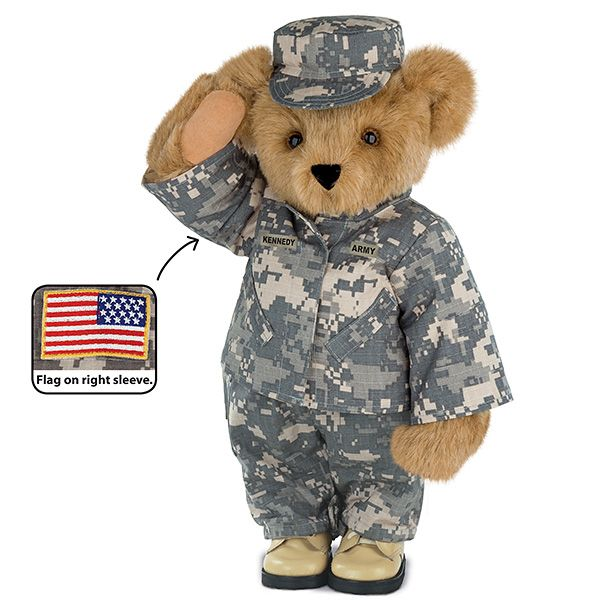 military teddy bears picture holder | 15 camouflage bear the perfect bear to send to your favorite military ...