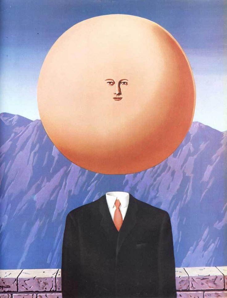 """Рене Магритт """"Искусство Жить"""" (""""Lart De Vivre"""")1968"""
