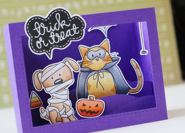 31 Oct 2017 | Laura Fadora | SSS Trick Or Treat | · Halloween CardsHappy ...