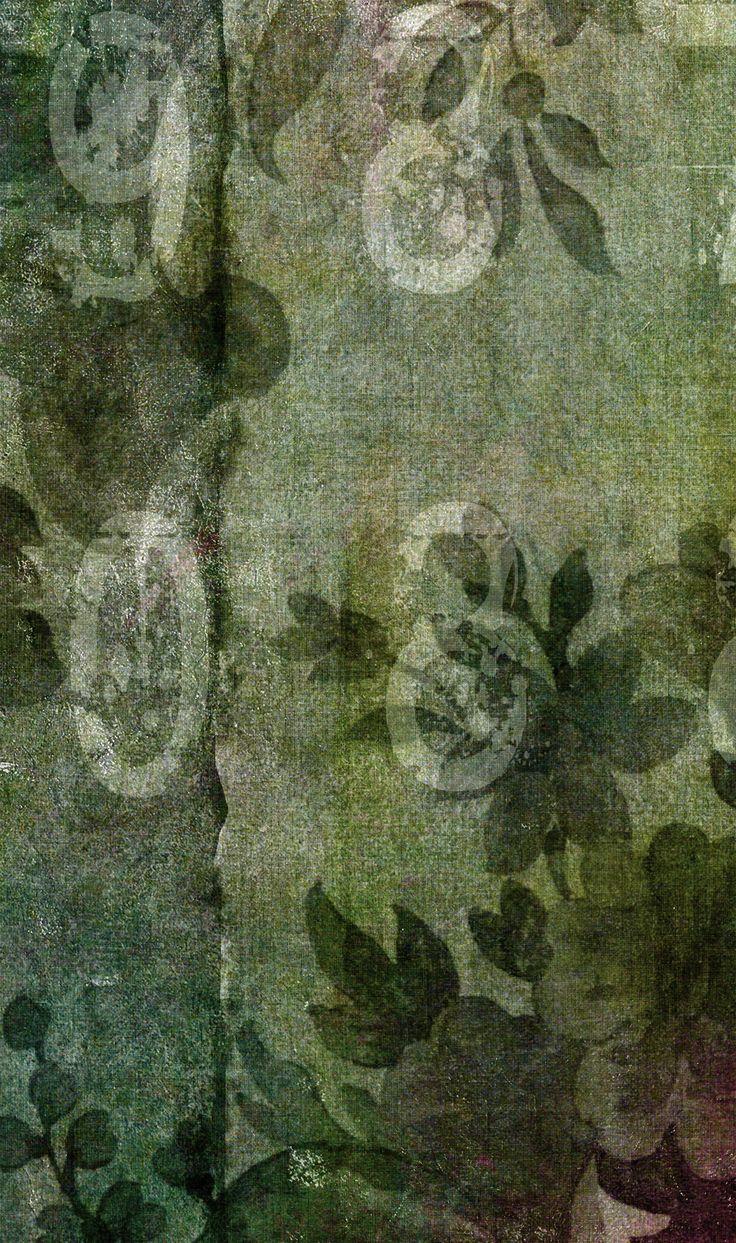 Detail wallpaper BAROQUE Watercolor Collection by N.O.W. Edizioni
