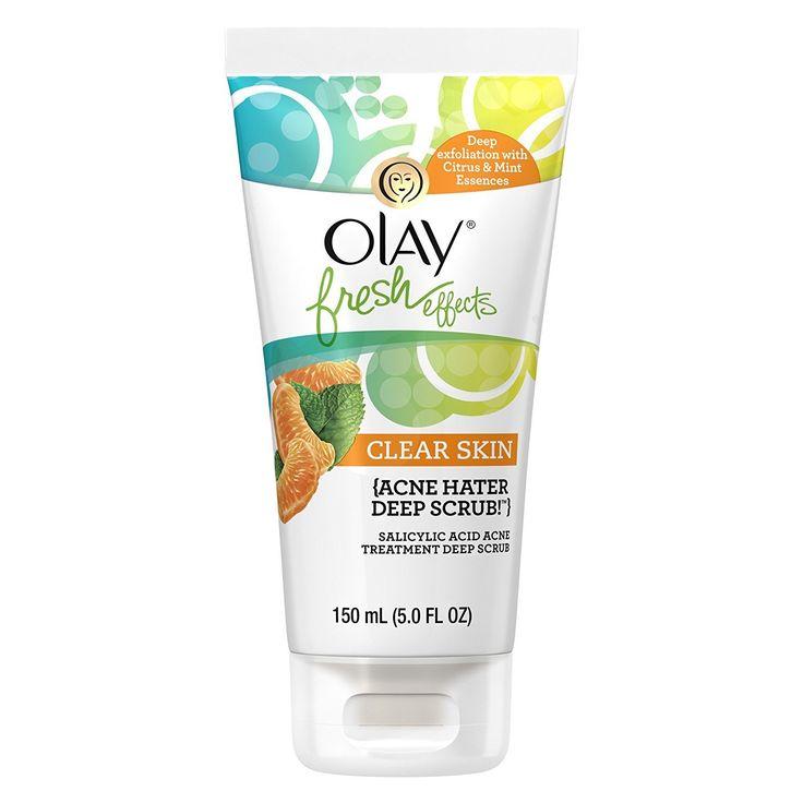 Olay Fresh Effects Clear Skin Acne Hater Deep Scrub Salicylic Acid 5-ounce Acne Treatment