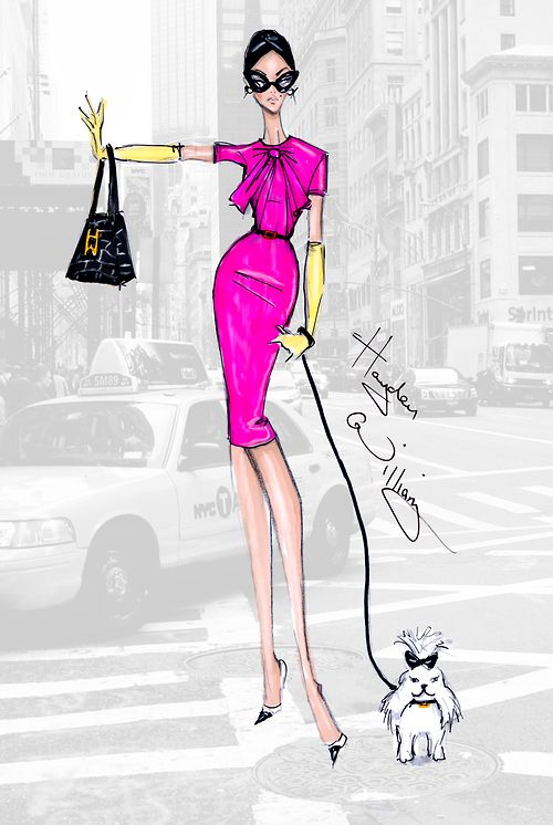NYFW: 'Girl on the Go' by Hayden Williams ❥|Mz. Manerz: Being well dressed is a beautiful form of confidence, happiness & politeness