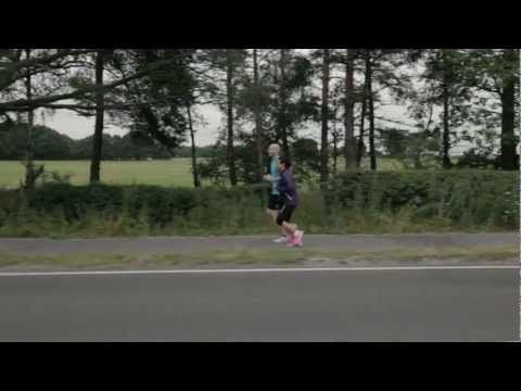 Nice ad for ASICS with blind ultra-runnner Simon Wheatcroft  Made of Sport: I am made of belief not barriers