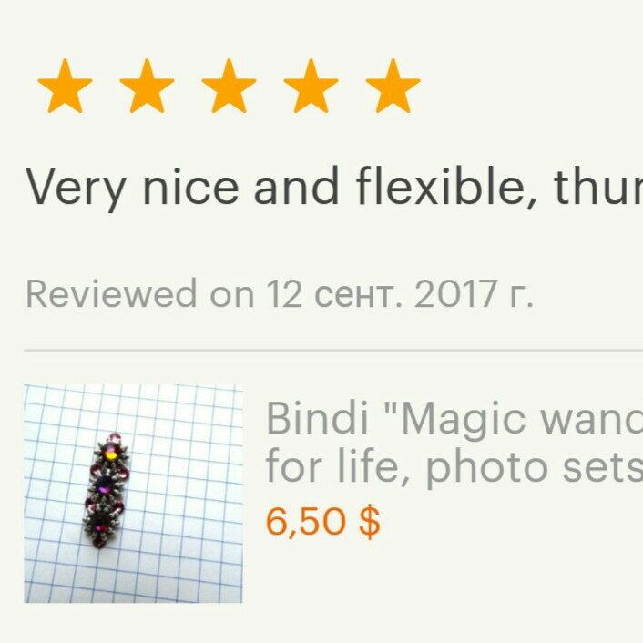 New reviews in my shop! Thank you so much!
