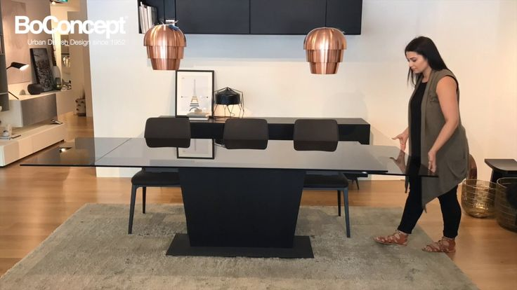 How to extend and style the Monza dining table by BoConcept Sydney