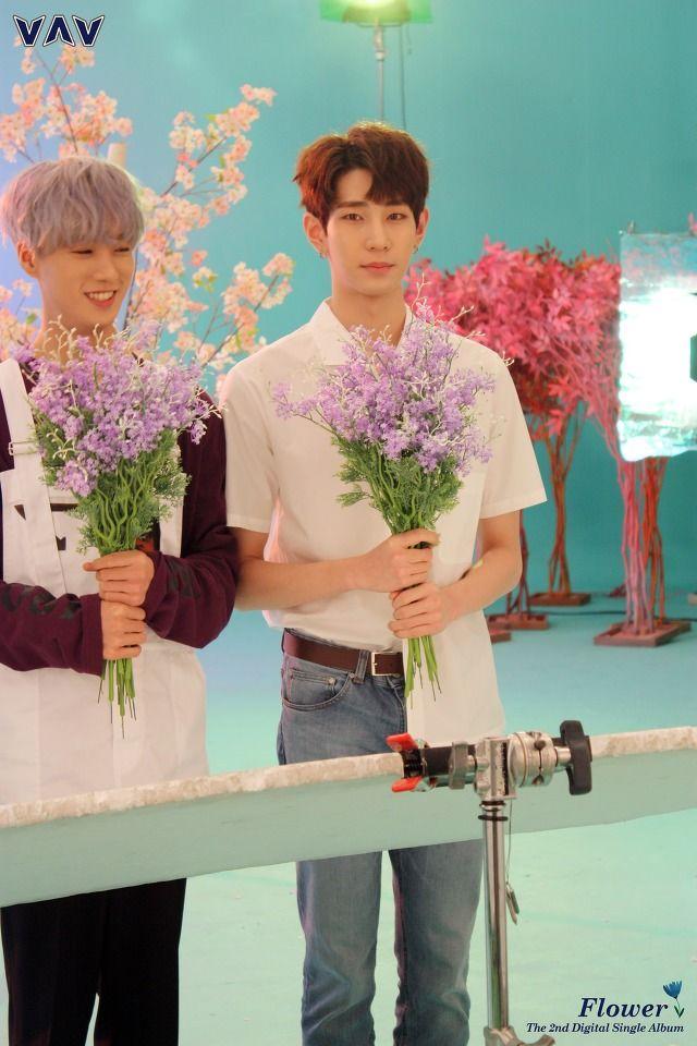 Lou   [Behind the cut] VAV - MV 'Flower' cr. VAV official Fancafe