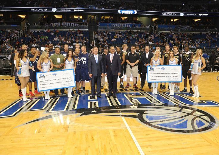 Harris Corporation Honors First Responders at Orlando Magic Game