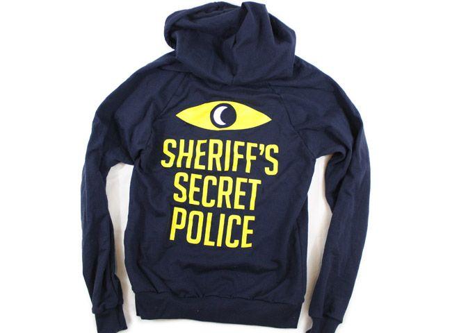 TopatoCo: Sheriff's Secret Police Hoodie