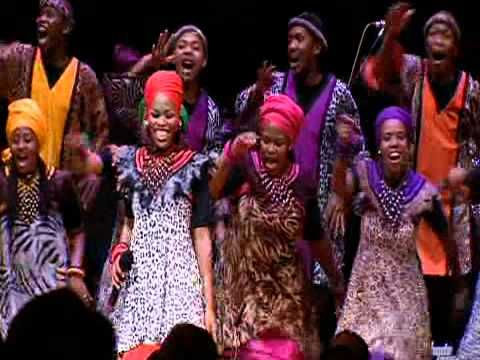 """""""Mama Tembu's Wedding"""" By the Soweto Gospel Choir Blessed Live In Concert dvd"""