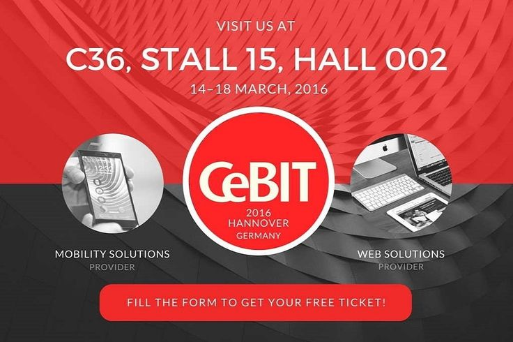 iMOBDEV technologies being an exhibitor at CeBIT 2016