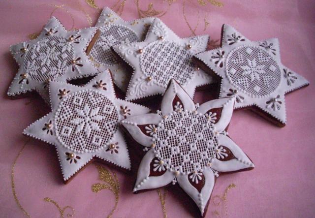 Vánoční hvězdy | Perníky
