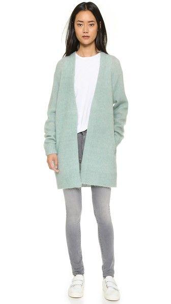 Raya Short Mohair Cardigan Style, Fashion, Acne studios