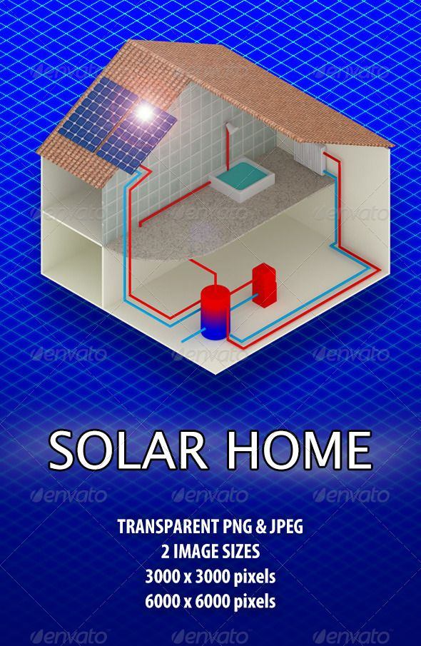 Solar Home  #GraphicRiver         3D render of small house as example of eco home with solar panel installation. Simple solar panel system with overview of hot and cold water flow.  	 Available in isometric view with 2 different environment lights and in two image sizes, 3000×3000 pixels and 6000×6000 pixels, both Transparent PNG and JPG format.     Created: 13September12 GraphicsFilesIncluded: TransparentPNG #JPGImage HighResolution: No Layered: No PixelDimensions: 6000x6000 Tags: budget…