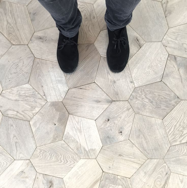 Cool wooden tiled floor