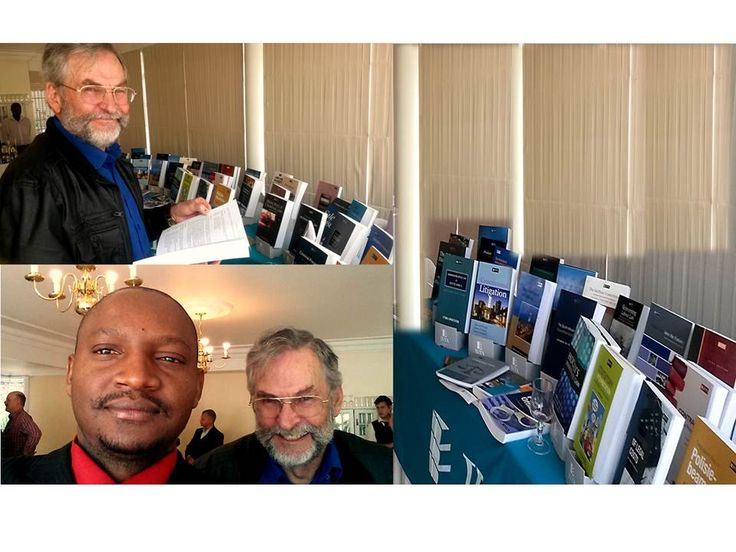 Unisa Library College Team of Law members at the JUTA exhibition